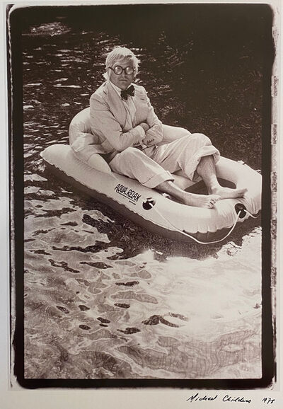Michael Childers, 'David Hockney in the Pool', 1978