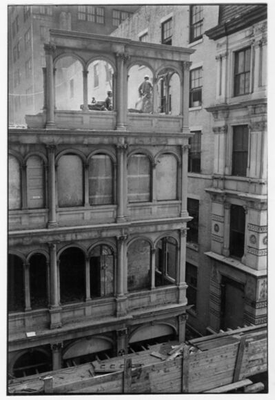 Danny Lyon, '82 Beekman Place, New York', 1967