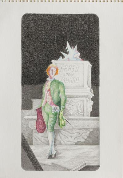 Lux Lindner, 'Sonámbulo en la Academia', 2014