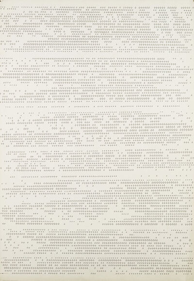 """Dadamaino, '""""Letter 12 - March 1980. They are and are not""""', 1980"""