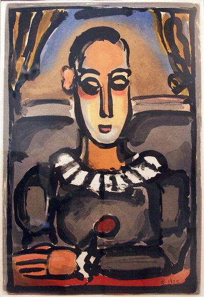 Georges Rouault, 'Pierrot Noir', 1935