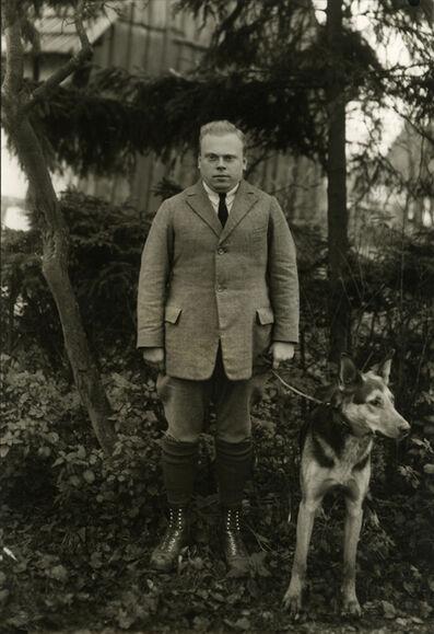 August Sander, 'Student Teacher', 1928