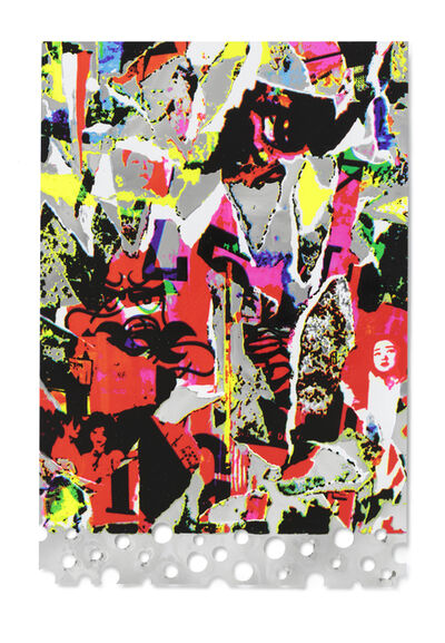 Shinro Ohtake, 'Silver Memory', 2016
