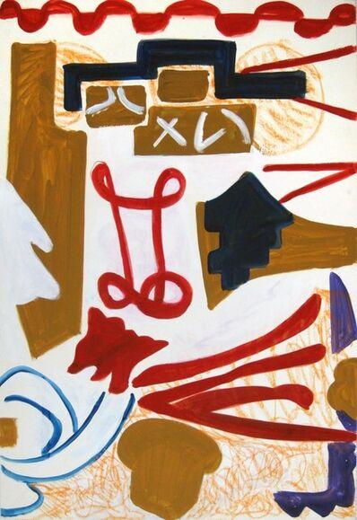Shirley Jaffe, 'Untitled #61'
