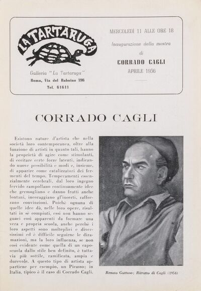 Corrado Cagli, 'Bollettino'