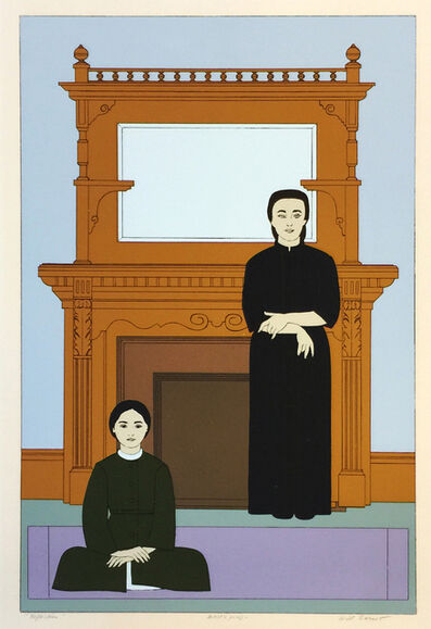 Will Barnet, 'REFLECTION', 1971