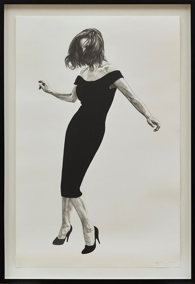 Robert Longo, 'Gretchen from Men in the Cities', 2002
