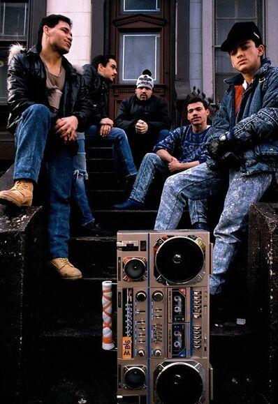 Joseph Rodriguez, 'Boombox on the stoop, Spanish Harlem, NY ', 1988