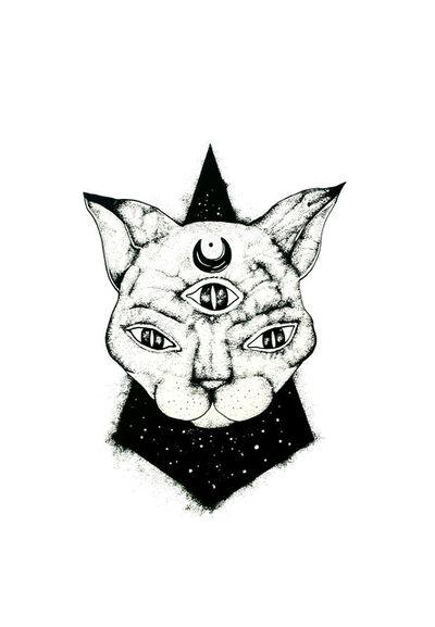 Ksenja Laginja, 'Cat in the sky', 2019