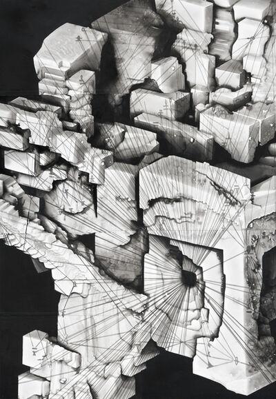 Radenko Milak, 'Geometry of the infinitely small, from the Series Dark Matter', 2017