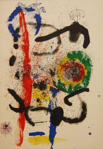 Joan Miró, 'La Cascade (The Waterfall)', 1964