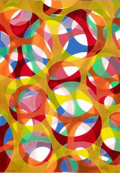 Beat Zoderer, 'Folienaquarell No. 2', 2013