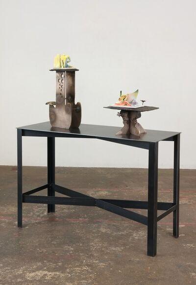 Alessandro Pessoli, 'Atomo Che Sogna and Cervia Milano Marittima, 1974', 2013