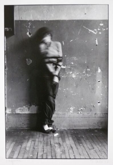Suzy Lake, 'Against the Wall #2', 1977