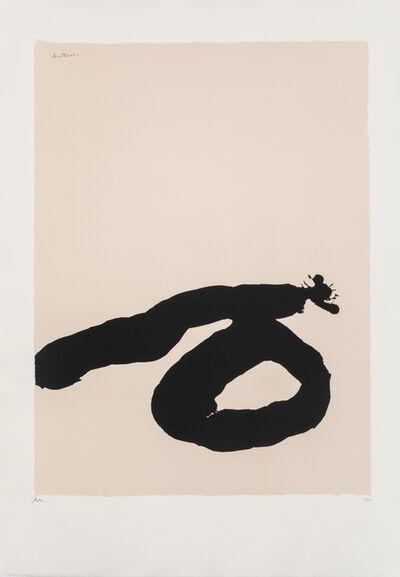 Robert Motherwell, 'Africa 7 from Africa Suite', 1970
