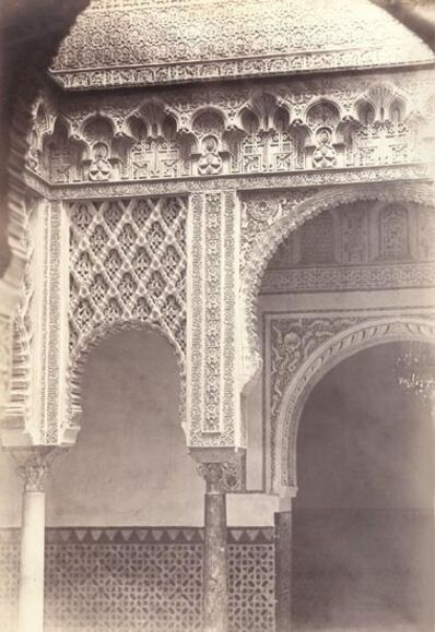 Charles Clifford, 'Alcazar Real, Patio de la Munecas, Spain', 1862/1862c