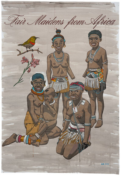 Anton Kannemeyer, 'Fair Maidens from Africa 1', 2011