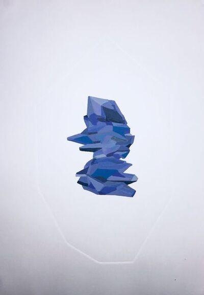 Amanda Mei, 'Joia Azul II', 2018