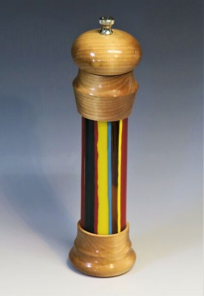 Robert L. Straight, 'Maple Pepper Mill', 2020
