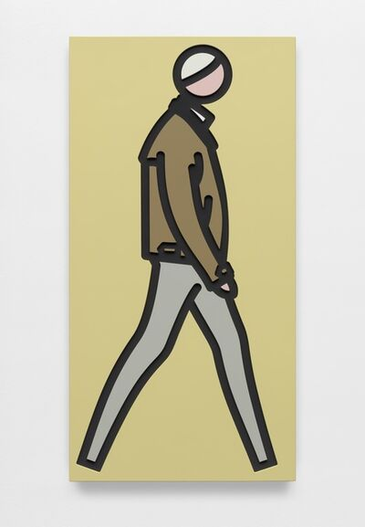 Julian Opie, 'Leather jacket.', 2019