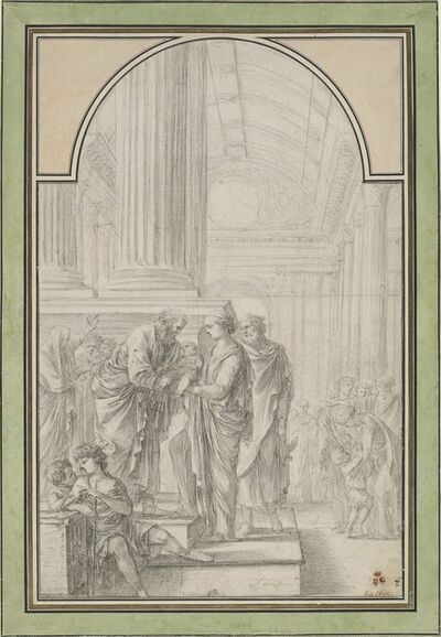 Laurent de La Hyre, 'The Presentation in the Temple', ca. 1648