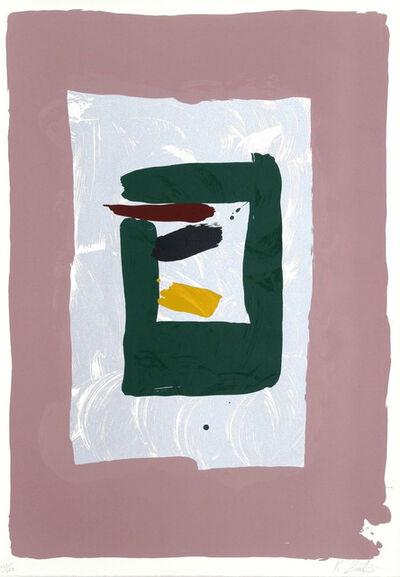 Kikuo Saito, 'Pink Square', 1980