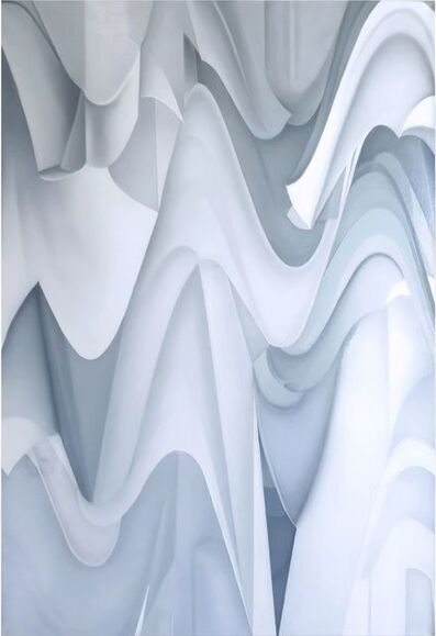"""Claudia Fauth, '""""The Absence Of Color, Cosmic Octaves""""', 2020"""