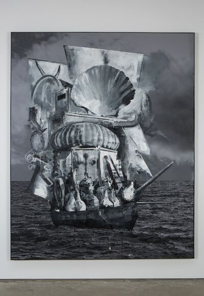 Marcus Harvey, 'Ghost Ship', 2016