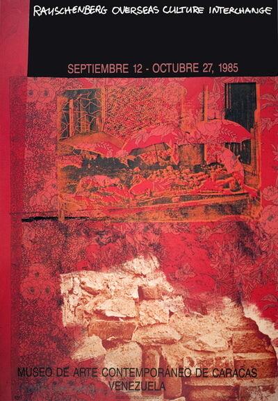 Robert Rauschenberg, 'ROCI: Venezuela', 1985