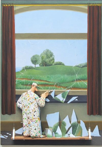 Stephen Hansen, 'The Key to the FIelds - Magritte', 2020