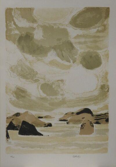 Bernard Cathelin, 'Mer Intérieure, au large d' Onomitchi', 1977