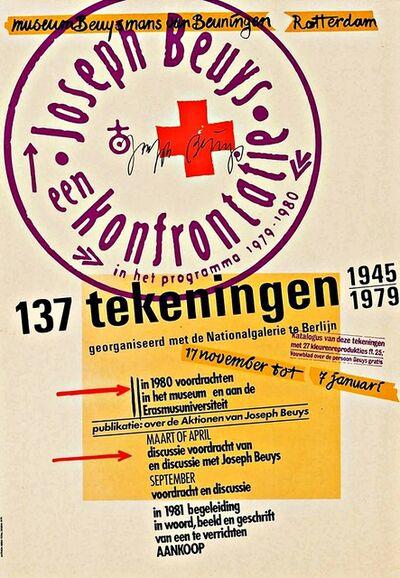 Joseph Beuys, 'Joseph Beuys, een konfrontatie, 137 Tekeningen 1945-1979, (Hand Signed)', 1979