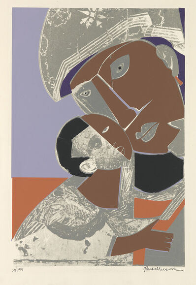 Romare Bearden, 'Mother and Child.', 1972
