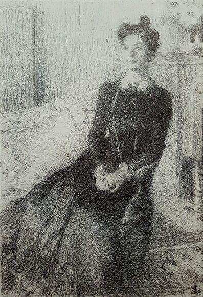 Ernest Joseph Laurent, 'Portrait', 1901