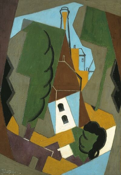 Jean Metzinger, 'Composition (The Village)', 1917