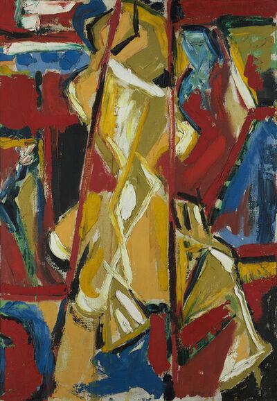 Judith Godwin, 'Yellow Figure', 1953