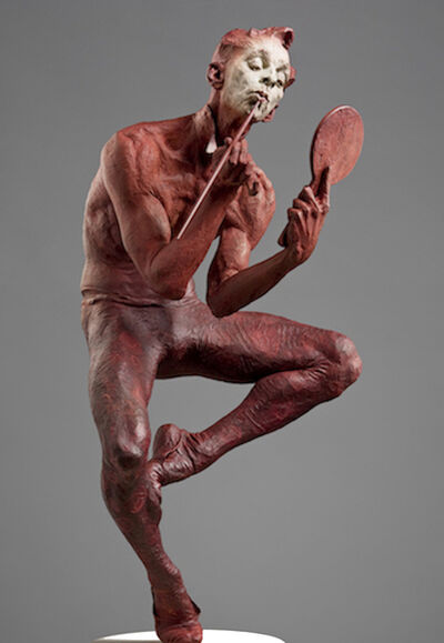 Richard MacDonald, 'Showtime, Half Life, Red', 2015