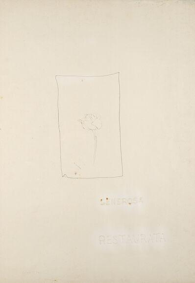 Pier Paolo Calzolari, 'Generosa restaurata', 1974
