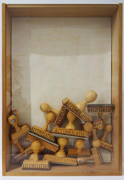 Arman, 'Accumulation', 1973