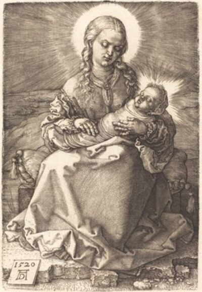 Albrecht Dürer, 'The Virgin with the Swaddled Child', 1520