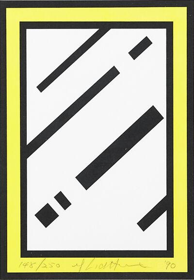 Roy Lichtenstein, 'Mirror, from Harvey Gantt Portfolio', 1990