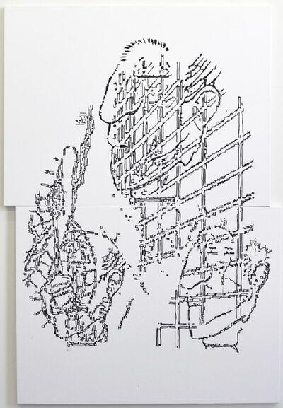 Ron Ewert, '6 Figures Askew', 2015