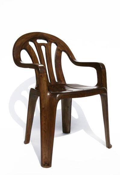 Maarten Baas, ' Plastic Chair in Wood', 2008
