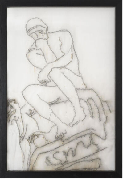 Mircea Cantor, 'Sic Transit Gloria Mundi (Le Penseur / Rodin) ', 2017