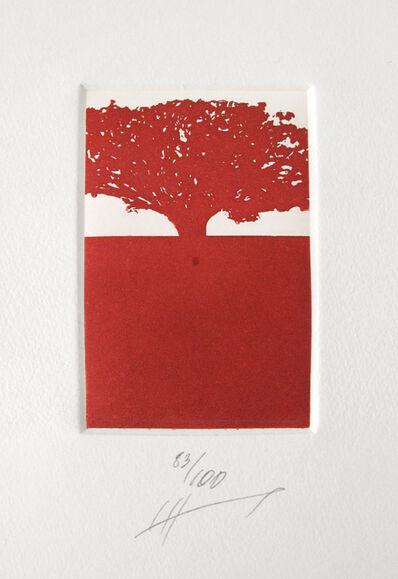 Jan Hendrix, 'ST 83/100 árbol rojo', ca. 2010