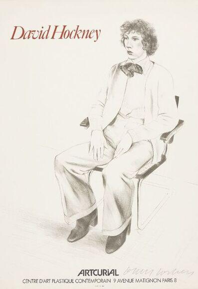 David Hockney, 'Artcurial Exhibition Poster', 1973