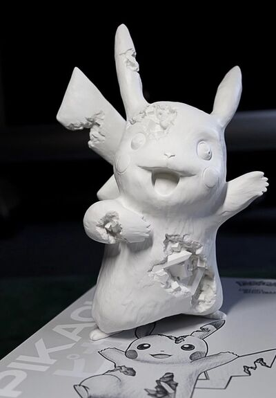 Daniel Arsham, 'CRYSTALIZED PIKACHU WHITE ', 2020