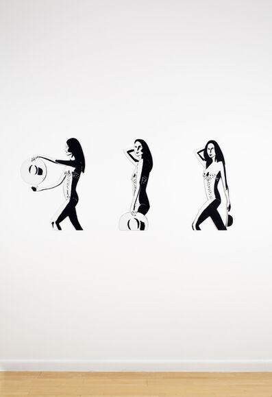 Alex Katz, 'Ariel (cutout)', 2016