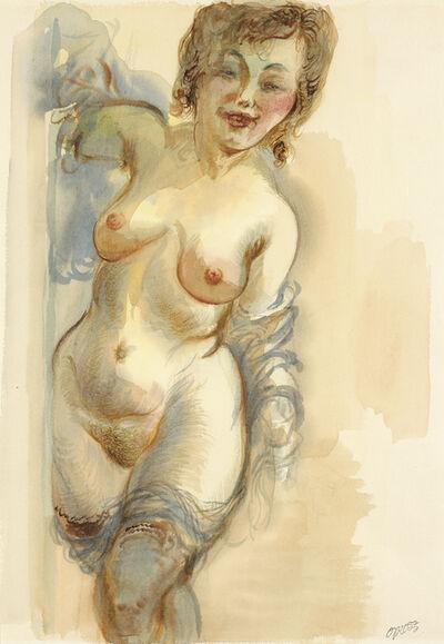 George Grosz, 'Female Nude', 1935