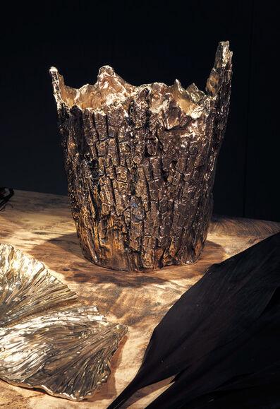 Michele Oka Doner, 'Vase 'Bark Lightning' III', 2015